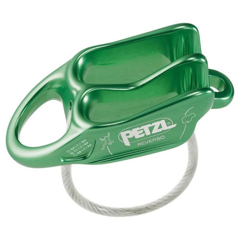 Jistící kyblík Petzl Reverso Zelená