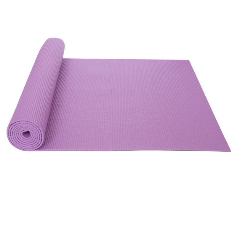 Jednovrstvá Yate Yoga mat Purpurová