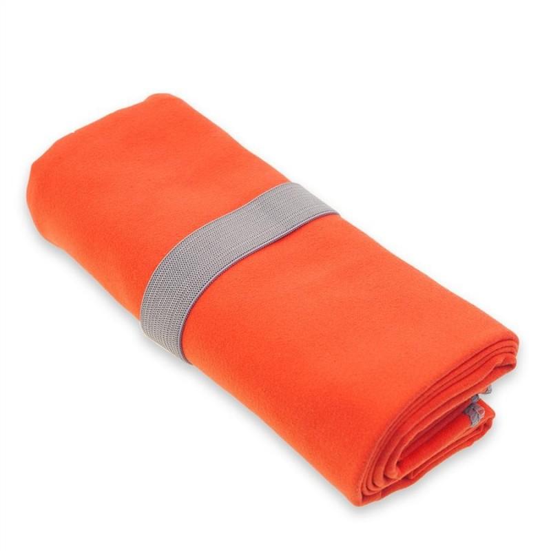 Rychleschnoucí ručník Yate Fitness L Oranžová