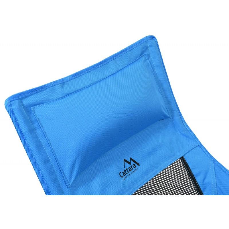 Kempingová židle Cattara Foldi max III Modrá